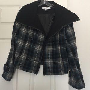 Sebby Jackets & Blazers - Sebby Short Plaid Coat