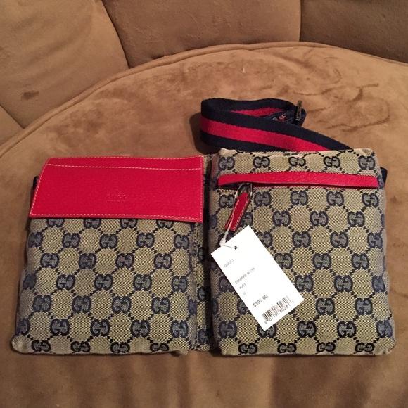 a1c6a8a8b146e Gucci Belt Bag Fanny Pack In Blue