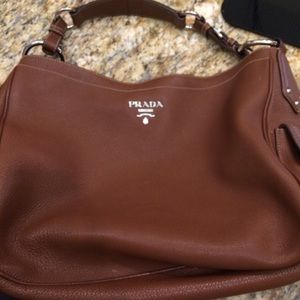 bac8222e9b0d 8% off Prada Handbags - NWT - PRADA Woven Leather Madras Bag