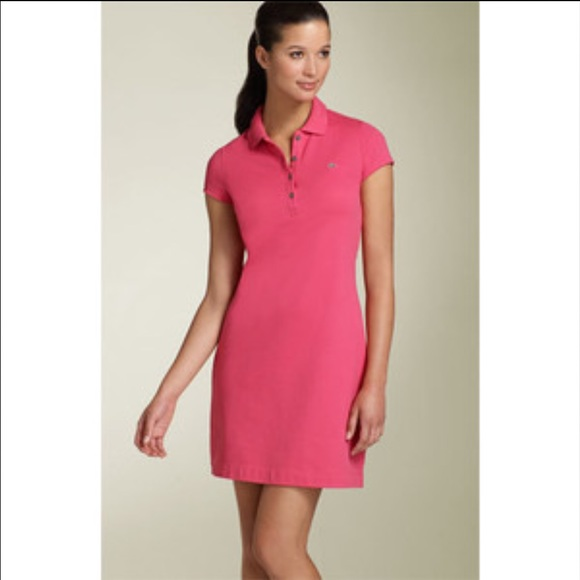 62fa978dac24 Lacoste Dresses & Skirts - LACOSTE Pique Polo Dress