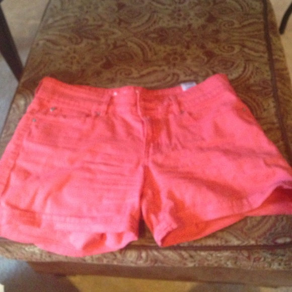 28% off denizen Pants - coral high waisted shorts from Megan's ...