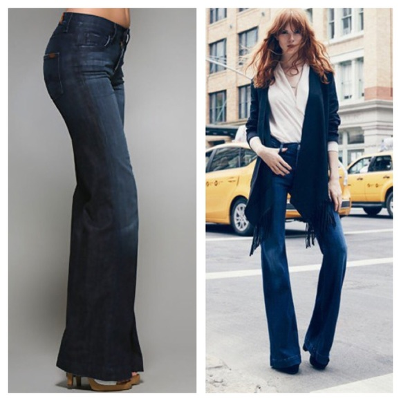 67% off 7 for all Mankind Denim - 7 for All Mankind Ginger Flare ...