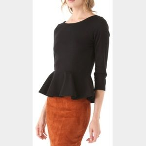 Zara Tops - Zara black peplum top