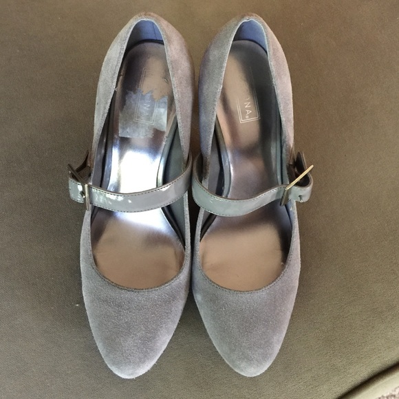 merona grey suede from s closet on