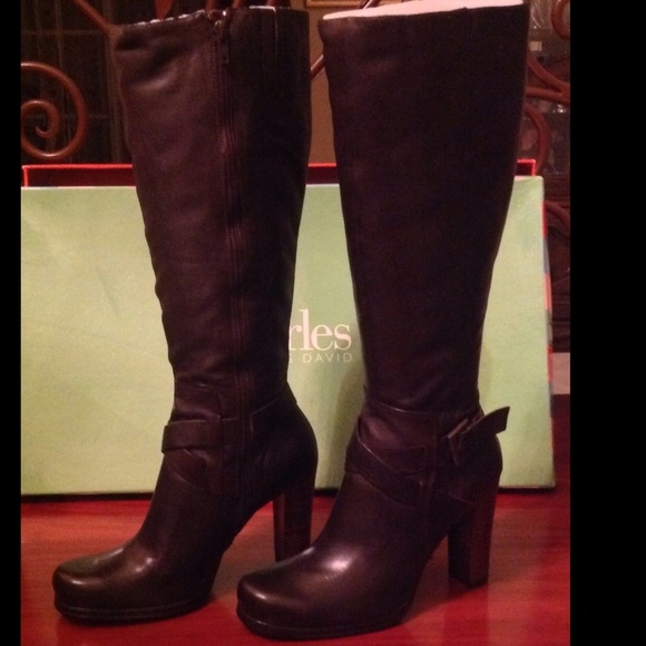 62 charles by charles david boots new charles knee