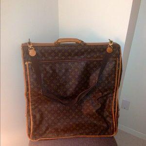 5e8e9bfe6cd8 Louis Vuitton Accessories - Vintage Louis Vuitton Monogram Garment Bag