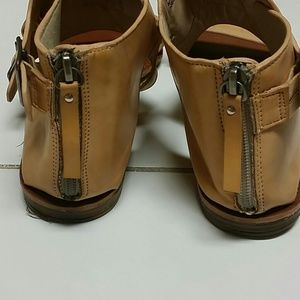 7c4389312ad2 bamboo Shoes - Bamboo MASON-47 beige brown nude flat sandals 8.5.