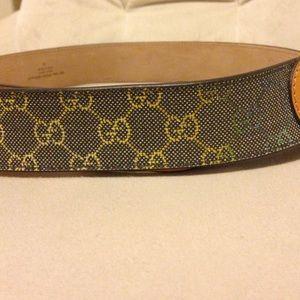 4230ef71924 Gucci Accessories - New Authentic Gucci belt w GG design multi colors