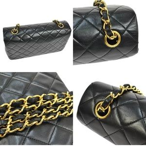 Additional pics Chanel black single flap
