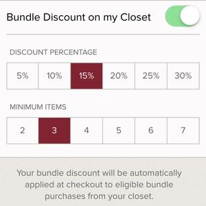 Bundle discount!