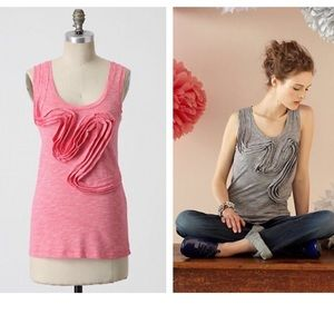 Anthropologie Winding Road Tank - Pink