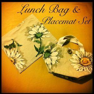 Handbags - Custom Mums Lunch Bag & Placemat Set