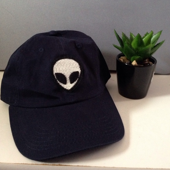 katherine alien patch baseball cap brandy melville black accessories