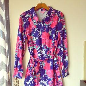 Lilly Pulitzer Elliott Shirt Dress