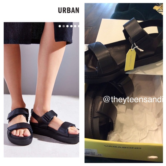284a298c48 Urban Outfitters Vagabond Irene Leather Sandals