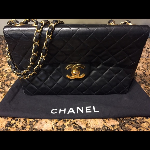 655c282807a CHANEL Bags   Quilted Lambskin Xl Jumbo Flap Bag   Poshmark