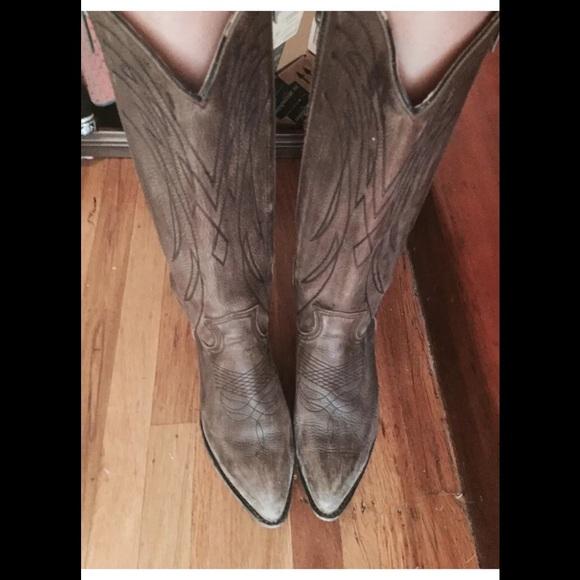 0685b722a7c Frye billy double zipper cowboy boots