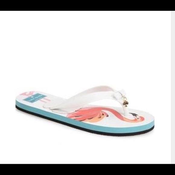 07a7609b4f94 Kate Spade Fifi Flip Flops Flamingo