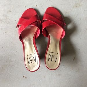 Shoes - Red slippers