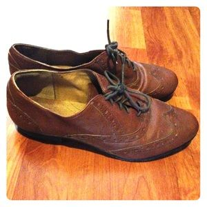Oxfords Clarks Brown Indigo Shoes Poshmark Brogues qwzx14Uw8