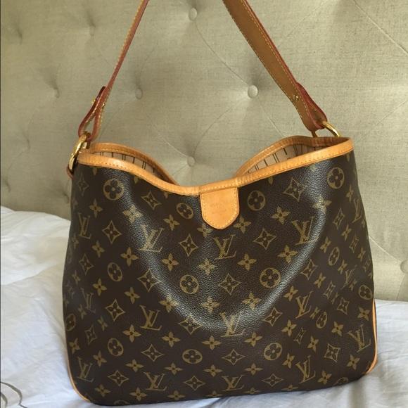 331b57e9f58 Louis Vuitton Delightful Mm M50157 Brown