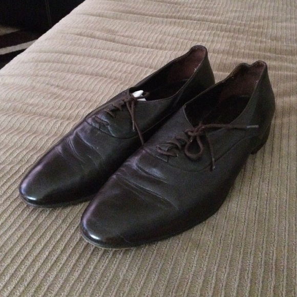 Christian Dior Leather Shoes Mens
