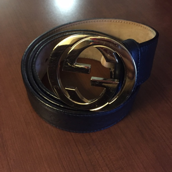 523d0d8f17b Gucci Accessories - Women s black leather Gucci belt size 90