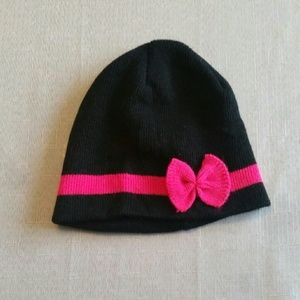 Uncommon Other - Black and Pink Skull Cap