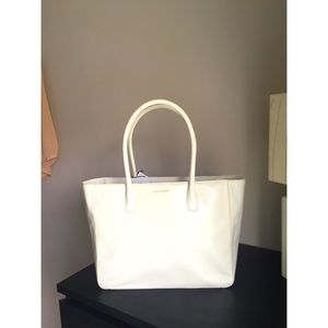 Cole Haan Handbags - Cole Haan tote bag white / ivory