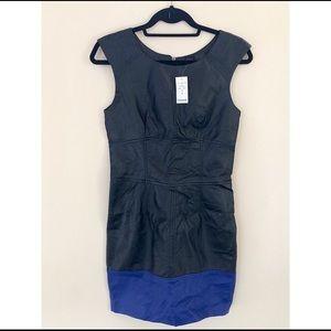 Bebe leatherette dress