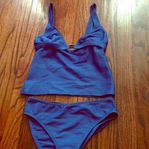 Ralph Lauren Other - RALPH LAUREN blue tankini swimsuit set S