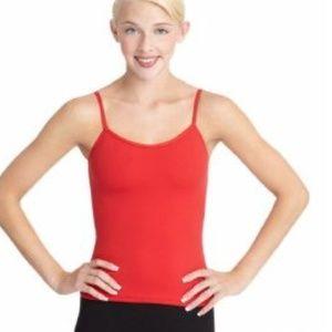 New Capezio Red Camisole Top - XSmall