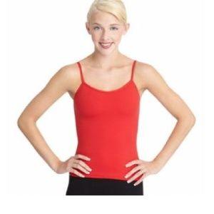 New Capezio Red Camisole Top - medium