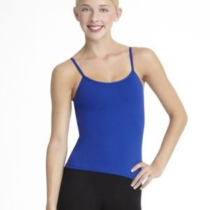 New Capezio Royal Blue Camisole Top - Medium