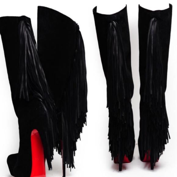 christian louboutin daffodile boots