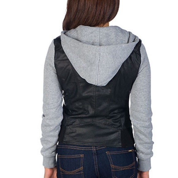55% off Ambiance Apparel Jackets & Blazers - Faux Leather Moto ...