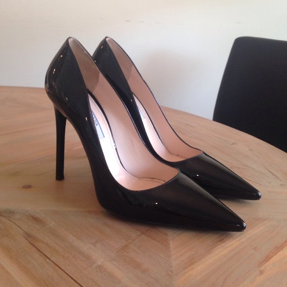 310854765ff7 Prada Pointy Toe Pump. M 55c68c31f52708611c006e6e. Other Shoes ...
