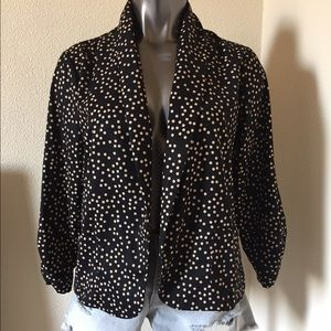 Eyeshadow Jackets & Blazers - Eyeshadow Polkadot Jacket