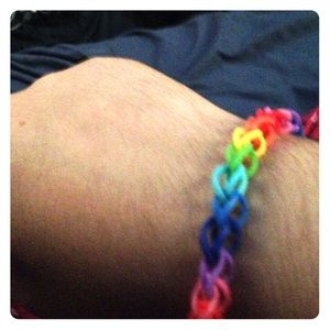 Jewelry - Rainbow loom single bracelet