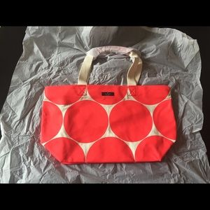 Brand new kate spade canvas tote
