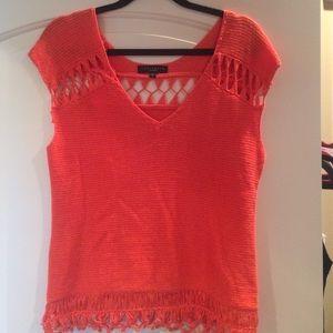 Orange Sanctuary Knit Sweater