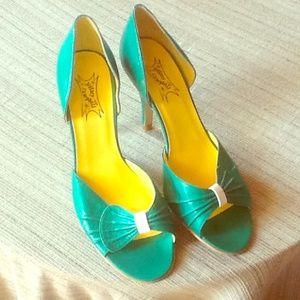 Retro Jeffrey Campbell heels