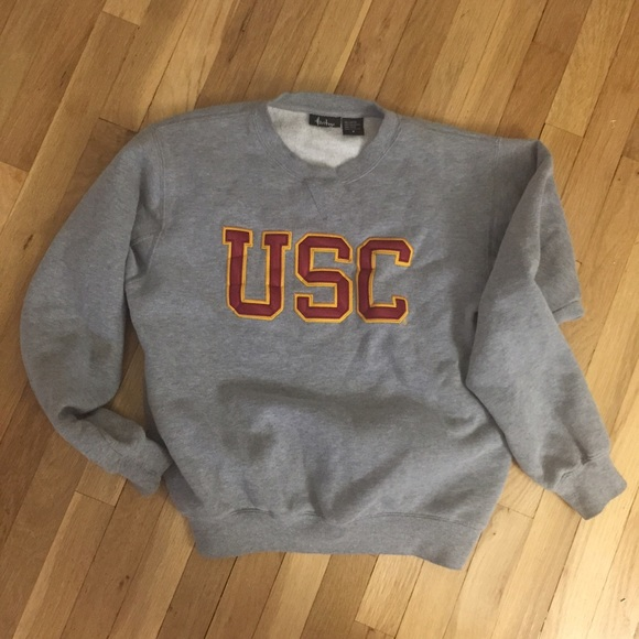 75% off Sweaters - USC Crewneck College Sweatshirt Small from ...