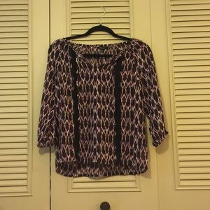 Patterned Express Top