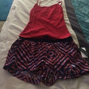 Outerwear - Brand new w/ tags!!! Shorts and a tank top