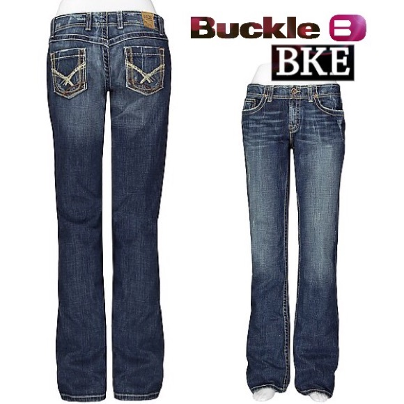 Buckle Bootcut Jeans - Xtellar Jeans