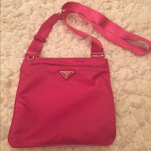 23% off Prada Handbags - Prada messenger bag from Vicki\u0026#39;s closet ... - prada galleria bag fuchsia
