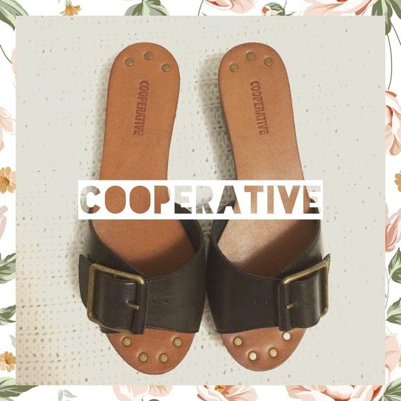 e26368f2bd7 Cooperative Faith Platform Slide Sandal