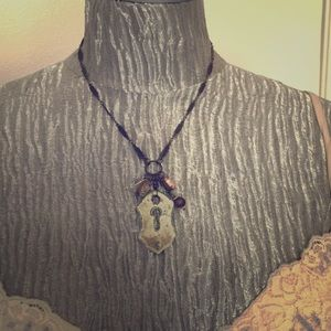 """Jewelry - Unique, boutique """"keyhole-to-my-heart"""" necklace"""