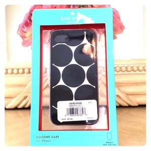 Kate Spade Silicone Case for iPhone5